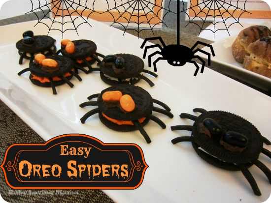 7 Inspiring Kid Room Color Options For Your Little Ones: Easy Oreo Cookie Spiders