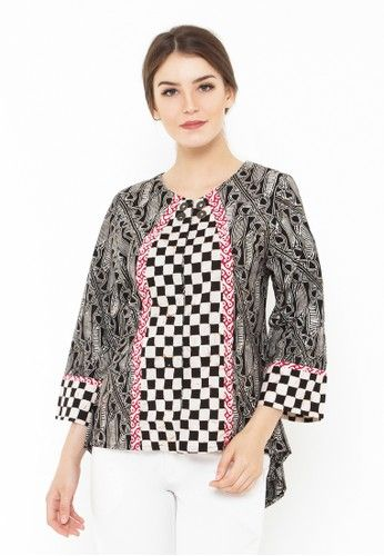 Youlita Blouse from Batik Senawangi in multi_1