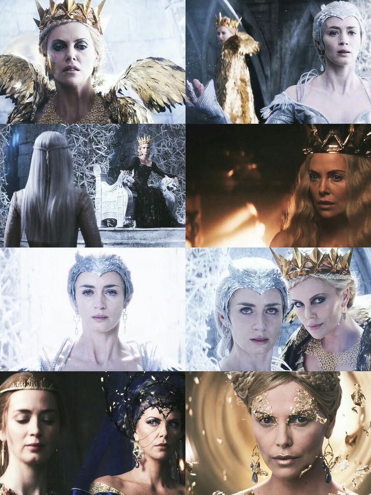 Evil Queen and the Ice Queen #huntsman