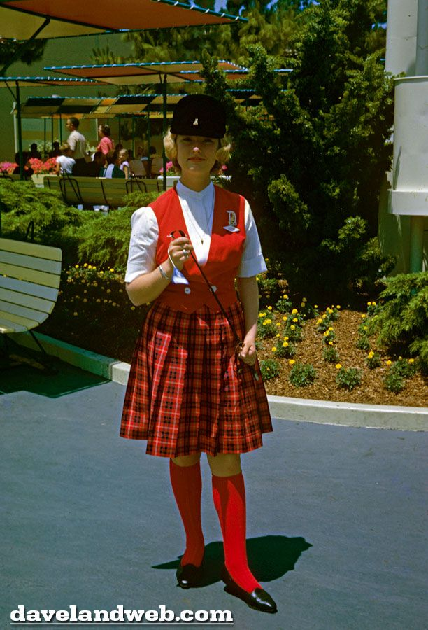 1963 Disneyland Tour Guide...Love these outfits!