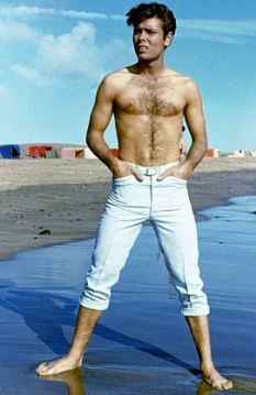 Cliff Richard in the 1963 film Summer Holiday.