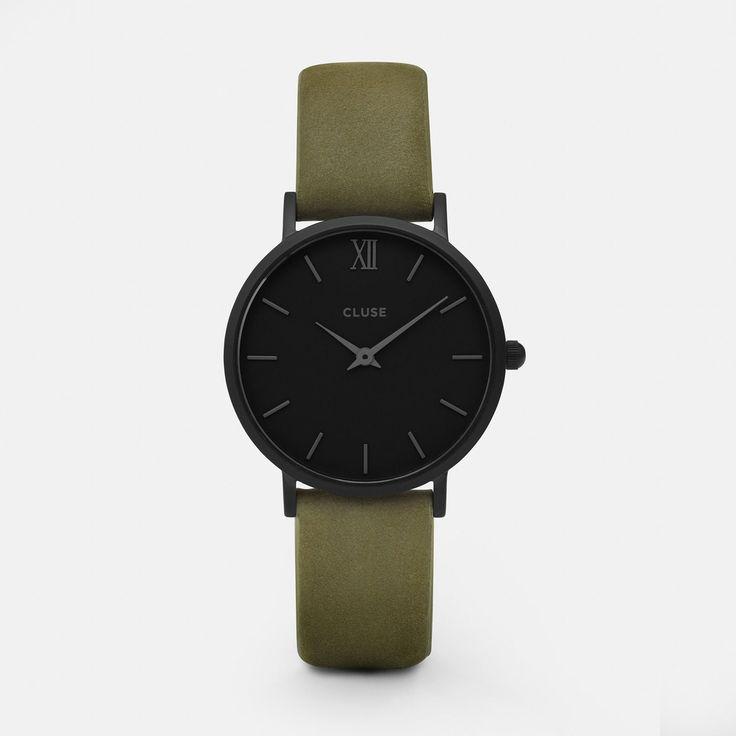 Minuit Full Black/Olive Green