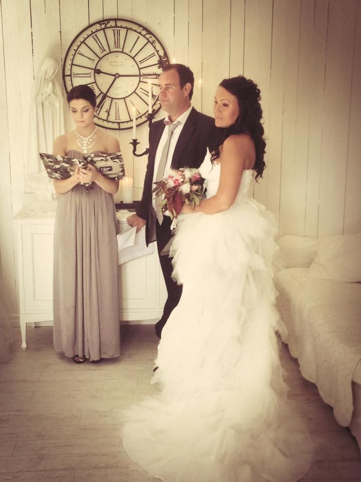 See more from our vow - day on my blog www.romantiskahem.blogspot.com