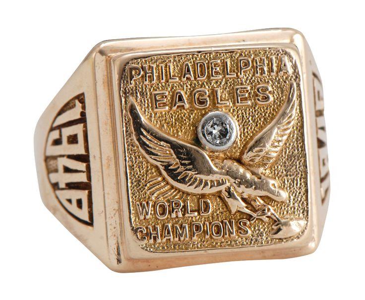 1949 Philadelphia Eagles NFL Championship Ring