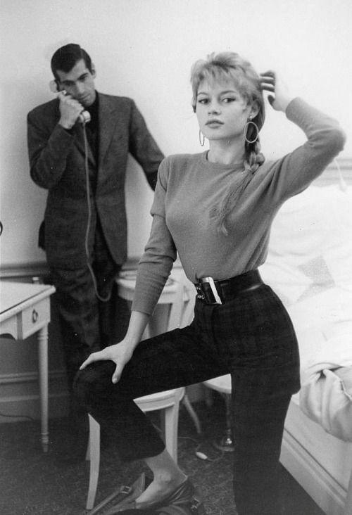 Roger Vadim & Brigitte Bardot, 1950s
