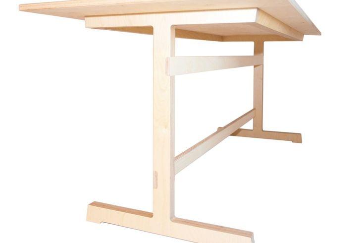 Berken multiplex tafel NR52-009
