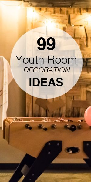Youth Room Themes: 99 Youth Room Decoration Ideas