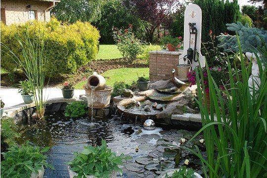 Jardin d co jardin les plus beaux bassins jardin for Deco bassin koi