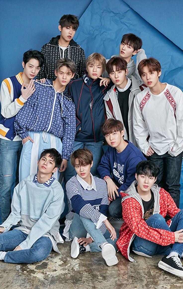Wanna One x STAR1 Magazine Wallpaper