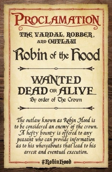 ... Printable Wanted Poster. 18 Best Party Like A KID ROBIN HOOD Images On  Pinterest Robin   Free Printable  Printable Wanted Posters