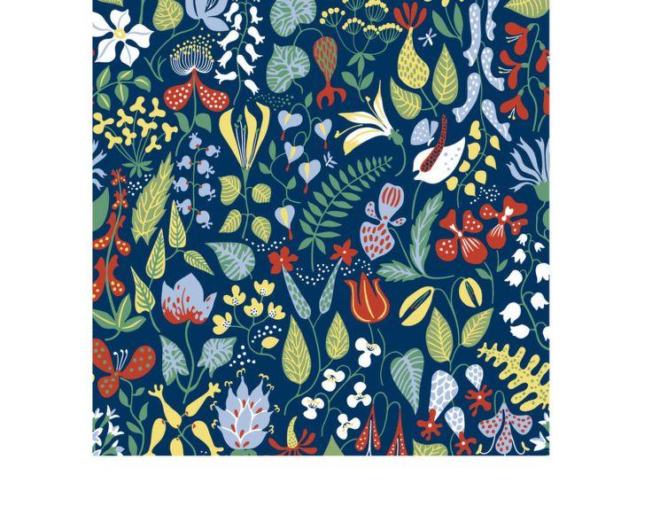 Tapeta Herbarium 2744   DesignVille