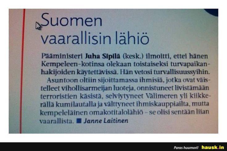 Suomen vaarallisin lähiö - HAUSK.in