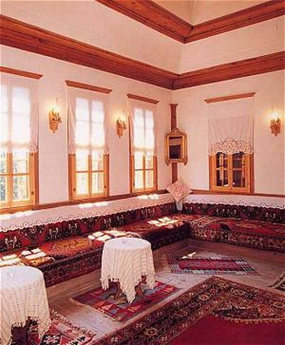 Safranbolu houses interior design. Turkey