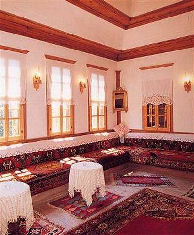 Safranbolu houses interior design.