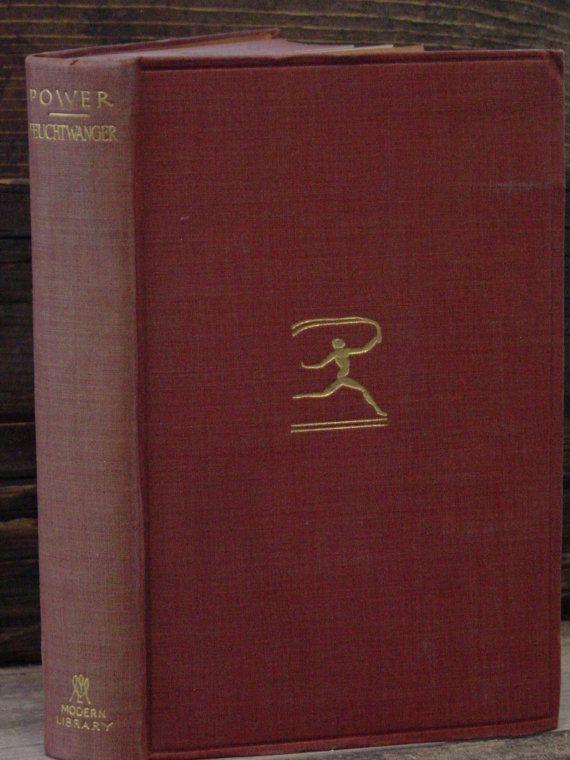 Modern Library-Lion Feuchtwanger Power 1st ML Ed #206 Modern Classics German Literature Flexible Balloon Cloth Binding
