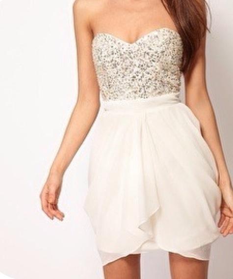 0d09f12d83 White Dresses: White Bachelorette Party Dresses