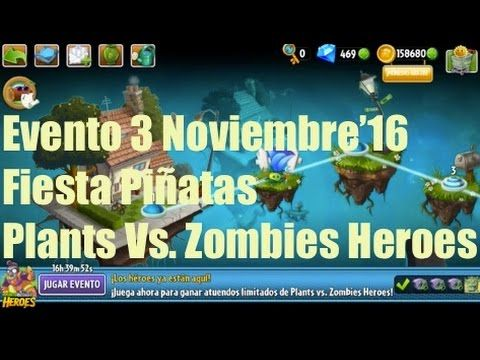 Plants vs Zombies 2 - Evento - 3 Noviembre'16 - GAMEPLAY IOS