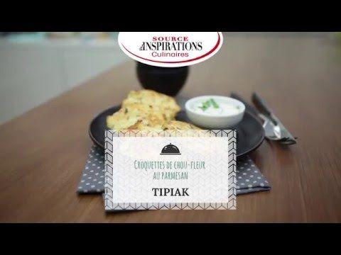 Recette Croquettes de chou-fleur et parmesan - TIPIAK - YouTube