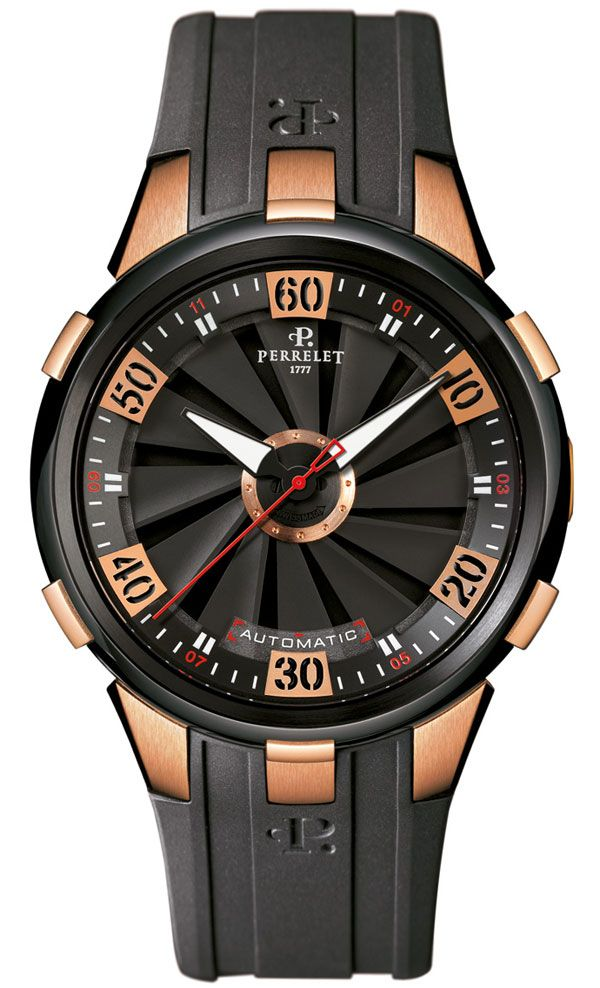 Perrelet Turbine XL: Luxury Watches, Men Style, Unisex Watches, Beautiful Timepieces, Rose Gold