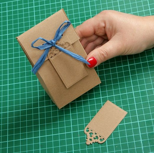 DIY favour box