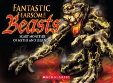 Fantastic Fearsome Beasts collects 44 beasts from mythology and folklore drawn from cultures all around the world, from biblical monsters that were mistaken for islands to dogs that are the portent of death, from giant bulls to evil dwarves to spirits, serpents and dog-faced men.