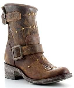 Old Gringo Ladies Biker Boots...I heart U! =)