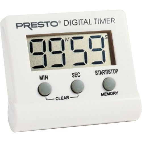 Presto® - Electronic Digital Timer - White, APPT4213