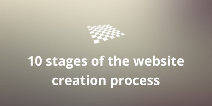10 stages of the website creation process  http://divendor.com/blog/10-stages-website-creation-process/