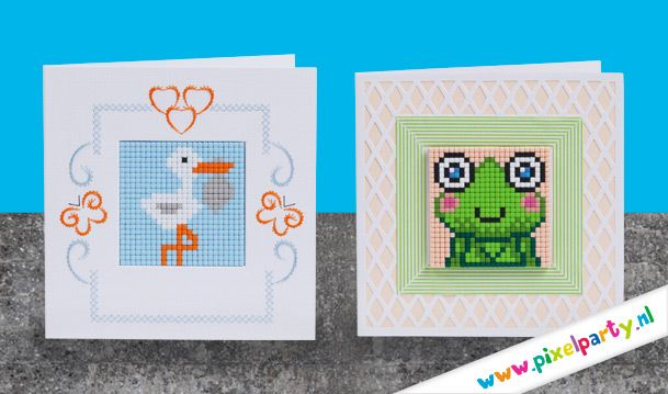 Kaarten maken met pixels :)