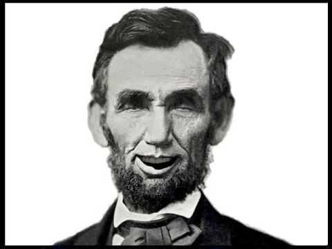 Gettysburg speech  エイブラハム・リンカーン(リンカーン)のゲティスバーグ演説 - YouTube