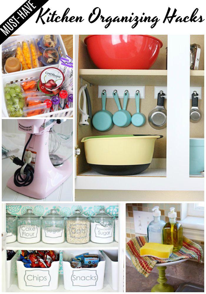 Creative Kitchen Organizing Ideas Kitchen Organization Kitchen