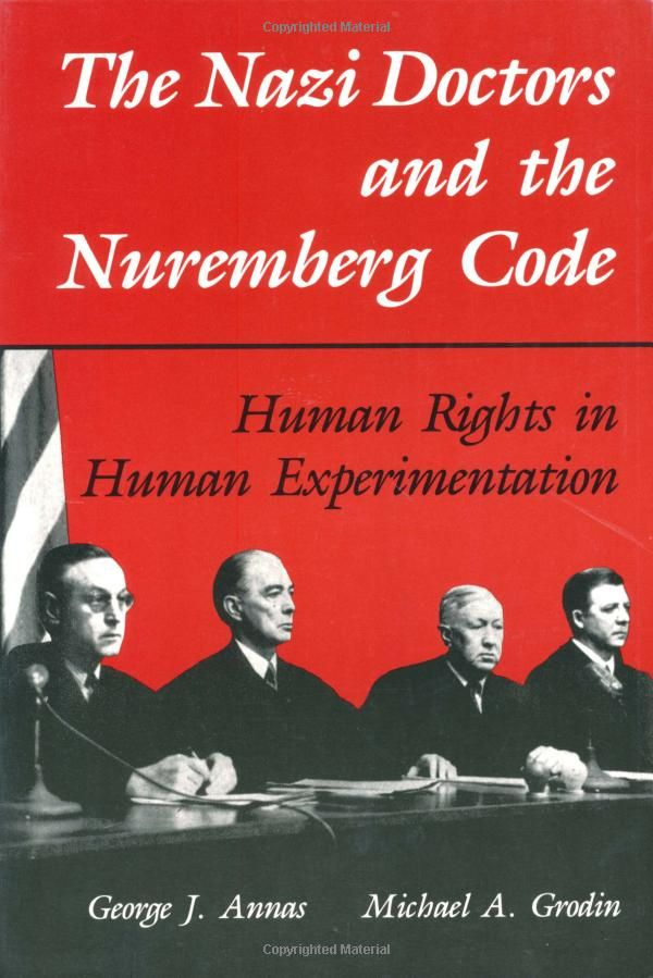 nuremberg code The nuremberg code 1 the voluntary consent of the human subject is absolutely essential this means that the person involved should have legal capacity to give consent should be so situated as.