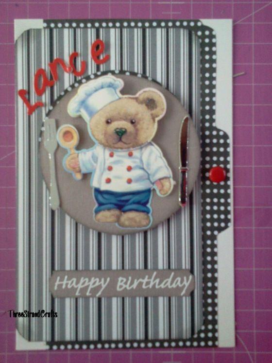 Little Chef Birthday Card