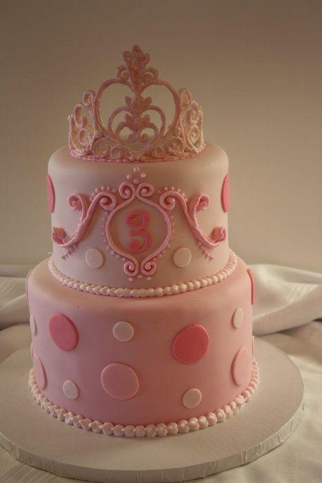 Love this sweet princess cake