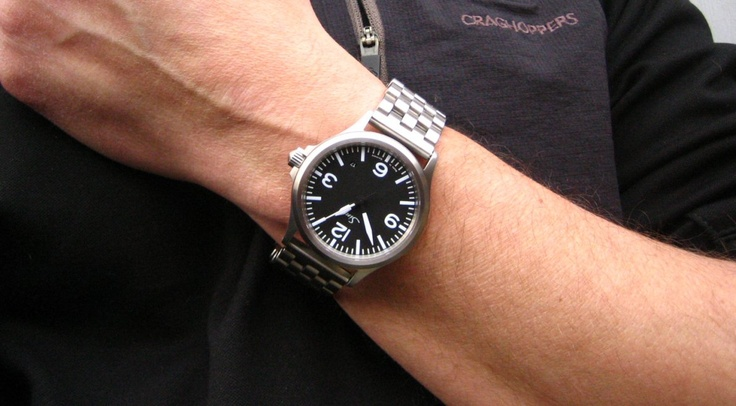 One Happy Camper Picked Up New Sinn 556a. Alternative Strap Pics