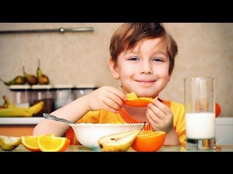 El desayuno ideal de los niños cómo tiene que ser - YouTube