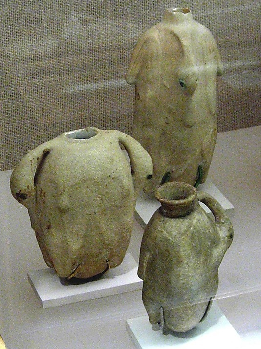 Flask in the form of a trussed goose  ca. 1700-1550 B. C.  Northern Upper Egypt