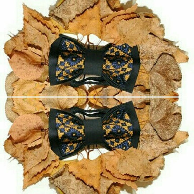 Fall bow tie