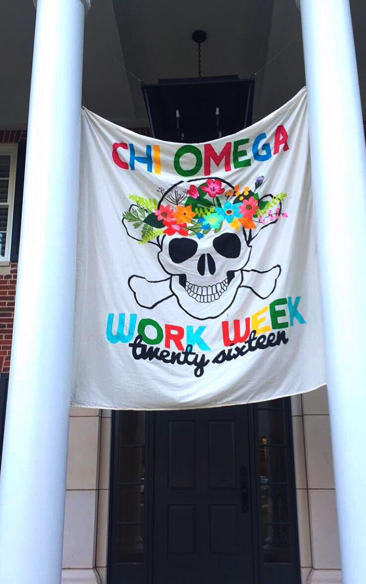 Chi Omega || Epsilon Alpha Work Week