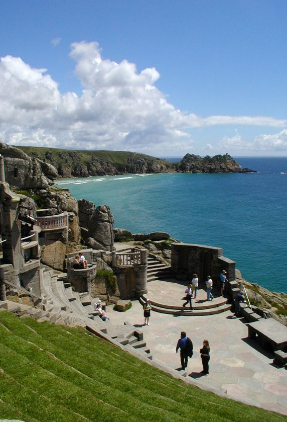 The Minack Theatre blows me away every time I visit. Whether you actually see a show or just visit during the day, it's well worth seeing.