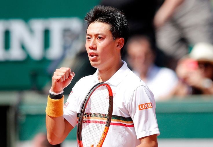 Kei Nishikori earns rare win to reach quarterfinals again