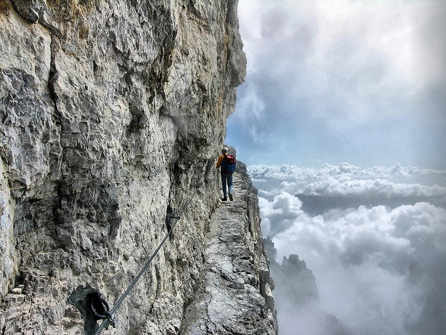 Wow! Would you dare? This is from Madonna di Campiglio, Trentino-Alto Adige, Italy. @Jouni Solismaa
