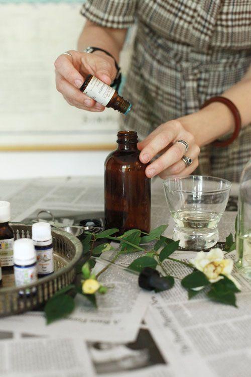 Fabriquer son parfum avec les huiles essentielles