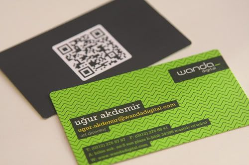 Business Card with Pattern Design 24