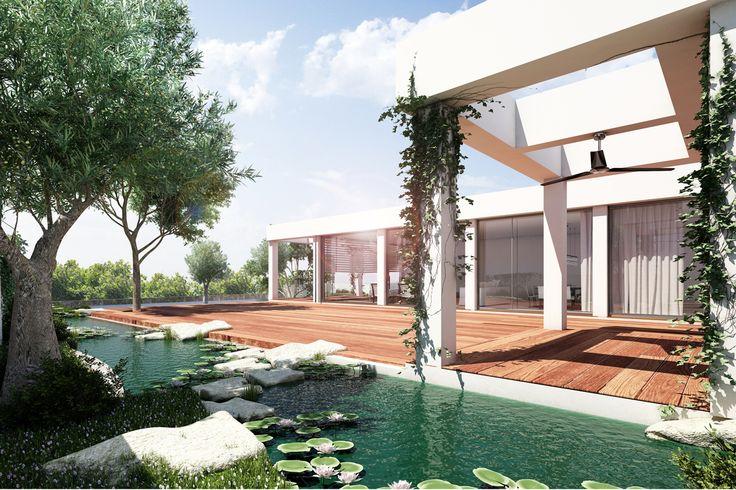 3D Villa rendering
