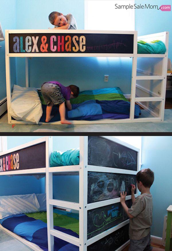 6 camas infantiles personalizadas Ideas para personalizar las camas infantiles. Renueva la decoración de la habitación de los peques con estas camas infantiles personalizadas.