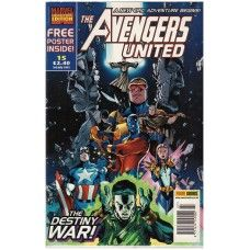 The Avengers United #15 from Panini Comics UK. 3rd July 2002 issue. No poster included. In fine/6.0 condition. Bagged and boarded. £2.00