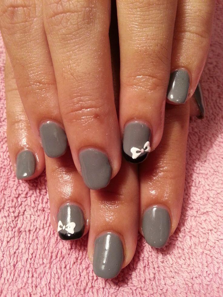 Pin by patricia jim nez nails on u as decoradas por - Unas decoradas con esmalte ...