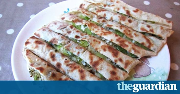 Kids love this folded and filled Turkish flatbread recipe, which adds yoghurt to an ordinary bread dough and will have you feeling the Mediterranean sun on your back