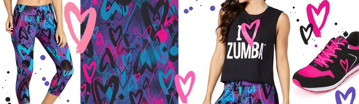 "Zumba Fitness ~ New ""Love"" Collection l #zumba l SHOP @ https://www.zumba.com/en-US/shop/US"